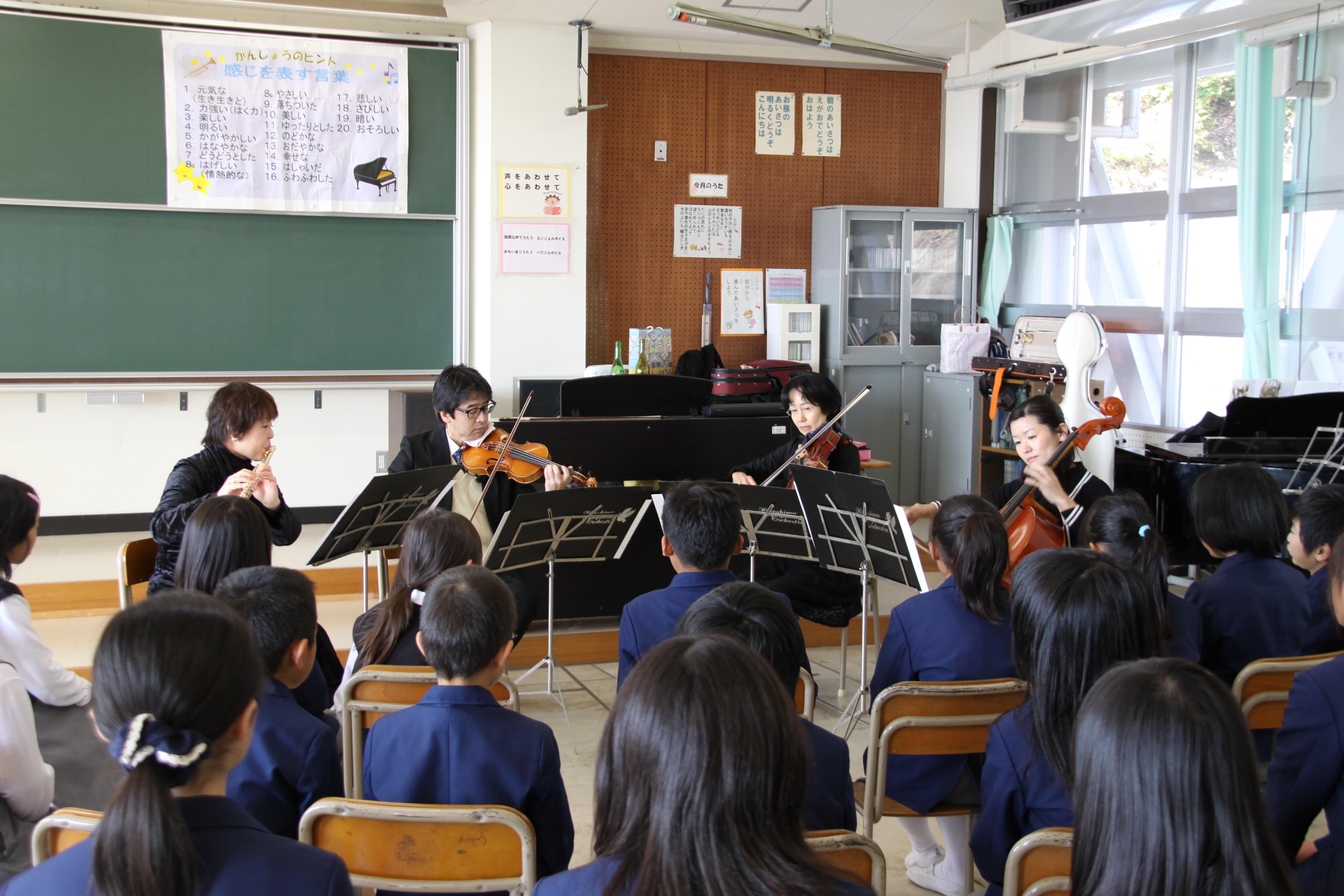 広響メンバーによる音楽教室